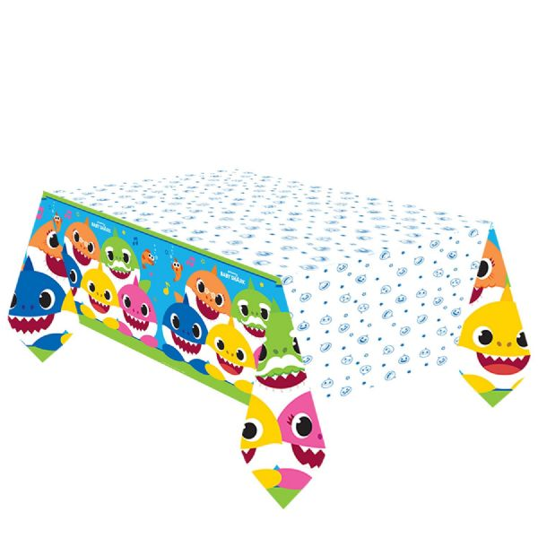 Baby Shark Paper Tablecover